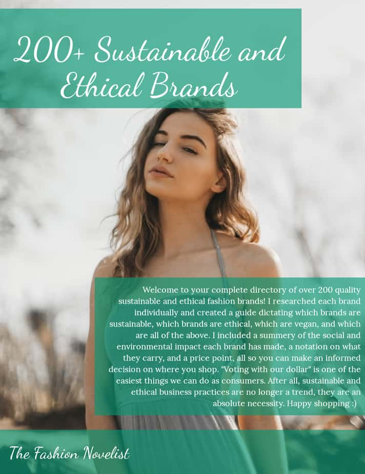 ethical brands LIST